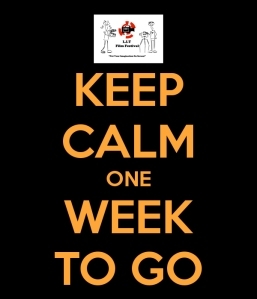 keep calm one week to go