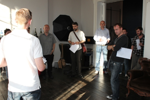 Film Makers attending the  Q&A session at Platform 74 on Aug 8th last.