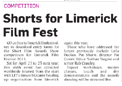 Limerick Post 13th November 2014