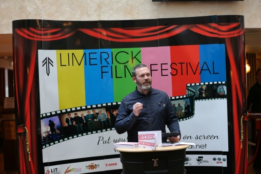 Simon McGuire at the launch of LFF 2015
