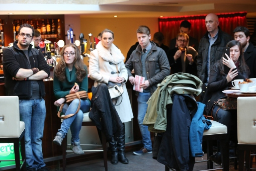 Audience at the LFF 2015 Launch