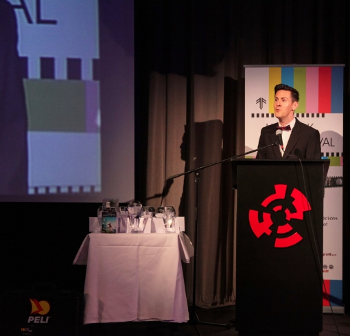 Awards Host Patrick Hogan